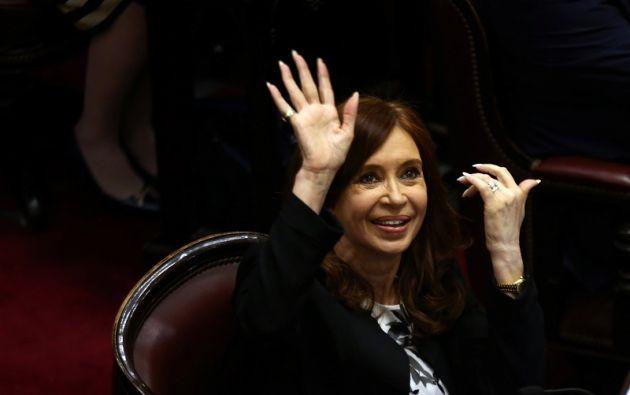 """Kirchner es acusada por """"lavado de activos en calidad de coautora"""". Foto: Reuters"""