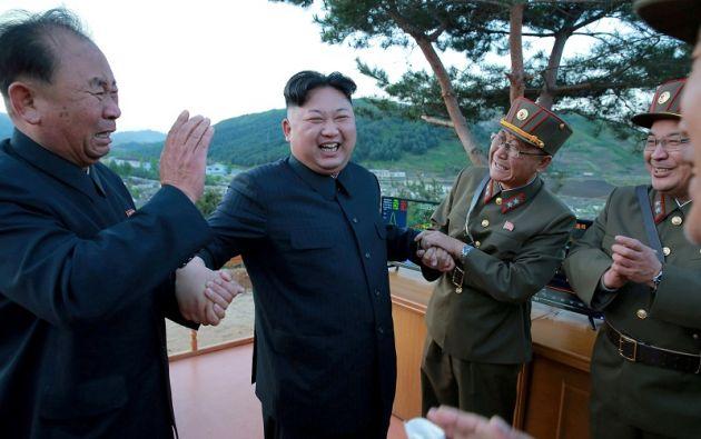 """El presidente estadounidense, Donald Trump, calificó al líder norcoreano Kim Jong-Un como un """"cachorro enfermo"""" y amenazó con nuevas sanciones. Foto: Reuters"""