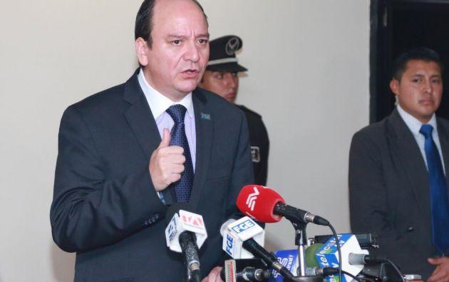 """""""Fiscalía ha concluido la presentación de pruebas testimoniales, periciales y documentales"""", dijo el Fiscal. Foto: Fiscalía"""
