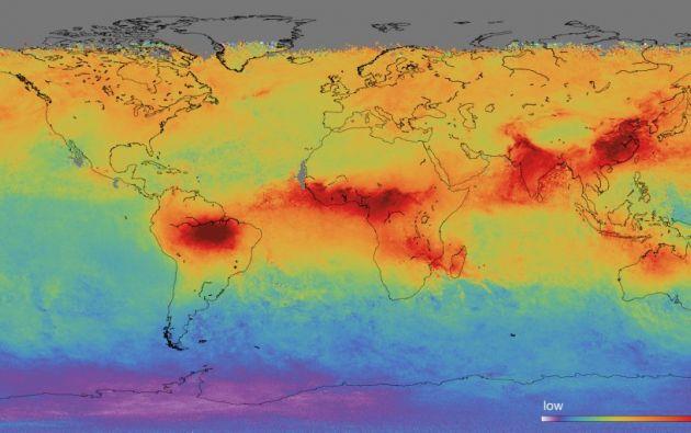 En la Unión Europea (UE), la contaminación del aire es la causante de 500.000 muertes prematuras. Foto: Twitter