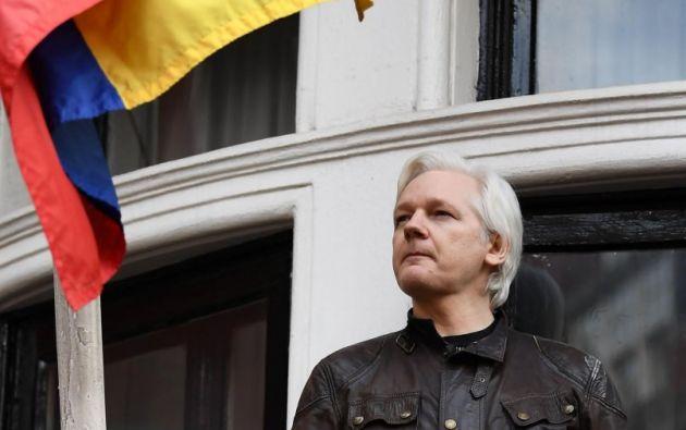 El fundador de WikiLeaks, Julian Assange, habría colgado alrededor de 40.000 tuits apoyando la independencia catalana. Foto: AFP
