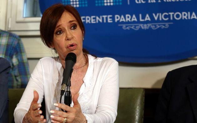 """La exmandataria, de 64 años, calificó de """"inventada"""" la causa en su contra. Foto: Reuters"""