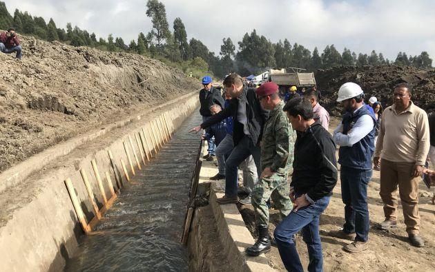 En las zonas afectadas en las que el servicio de agua potable todavía no está normalizado, se continuará distribuyendo gratuitamente mediante los tanqueros. Foto: Municipio