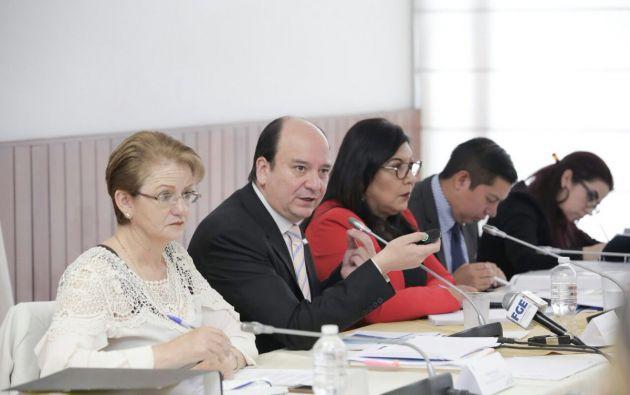 Baca manifestó que la Fiscalía ha recibido 714 denuncias de delitos sexuales entre los años 2015-2017. Foto: Asamblea