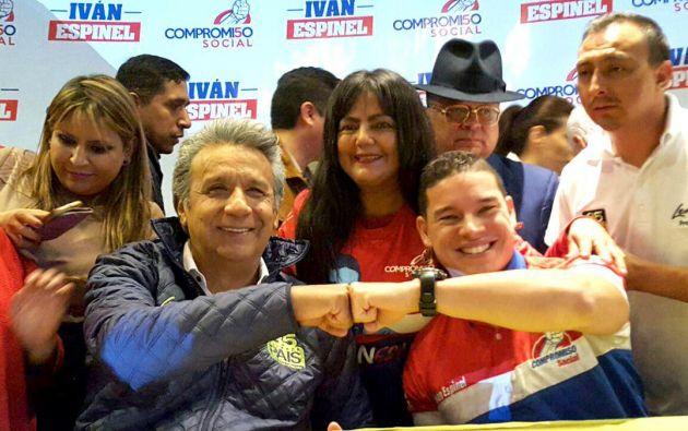 Espinel fue candidato presidencial en febrero pasado. Sin embargo, tras la primera vuelta se volvió aliado del presidente Lenín Moreno. Foto: archivo