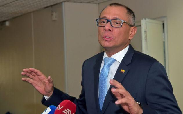 La Fiscalía pidió la pena máxima de seis años de prisión para Glas, acusado de asociación ilícita. Foto: AFP