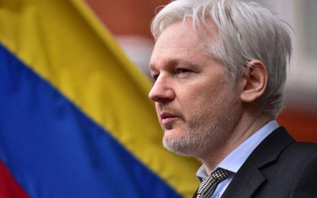 Assange se encuentra refugiado en la embajada ecuatoriana en Londres, bajo condición de asilado, desde 2012. Foto: archivo