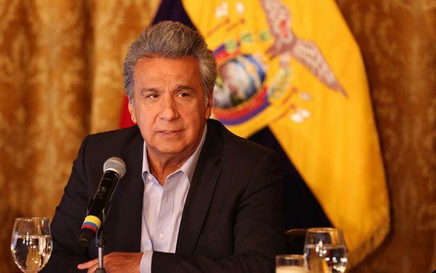 Moreno anunció que presentará al Papa una iniciativa de conservación amazónica que promueve su Gobierno en favor de la naturaleza. Foto: Presidencia