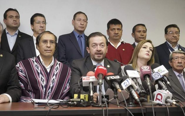 El pedido de enjuiciamiento fue presentado por la oposición, el pasado 8 de noviembre. Foto: @fabovillamar