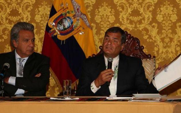 """""""Han excedido las obras complementarias, que era la trampa para ganar licitaciones"""", aseguró Moreno. Foto: archivo"""