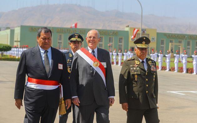 El presidente de Perú, Pedro Pablo Kuczynski, arriesga el puesto, con un Congreso dominado por la oposición. Foto: Reuters