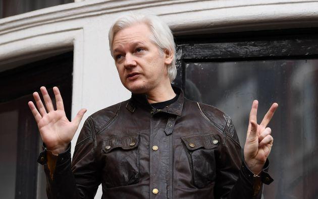 Assange provocó el enfado de Madrid al usar Twitter para enviar mensajes de apoyo a la campaña de independencia de Cataluña. Foto: AFP - Archivo