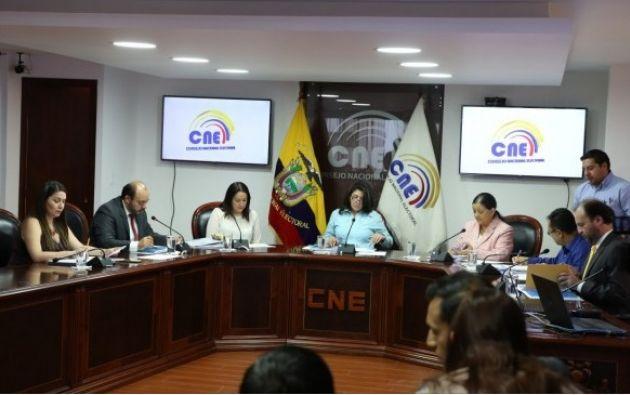 El Consejo Nacional Electoral (CNE) aprobó la convocatoria para la Observación Electoral Nacional y definió las misiones internacionales que serán invitadas para los próximos comicios. Foto: CNE