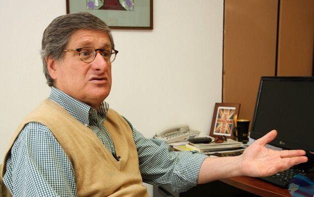Carrión fue canciller del Ecuador en 2005 y ocupó altas funciones en la Cancillería. Foto: Andes
