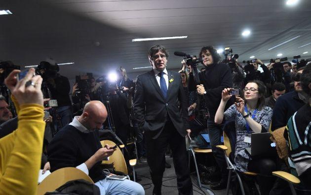 El futuro Gobierno de Cataluña, pendiente de las decisiones judiciales. Foto: AFP