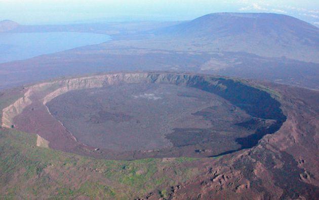 El Sierra Negra es uno de los volcanes más activos de Galápagos. Foto: Nature Galápagos