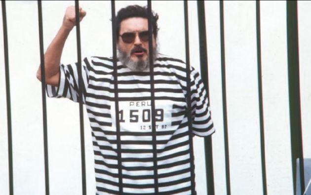 """Guzmán cumple desde septiembre de 1992 una condena a prisión perpetua por """"delitos de terrorismo y crímenes contra los derechos humanos"""". Foto: archivo"""