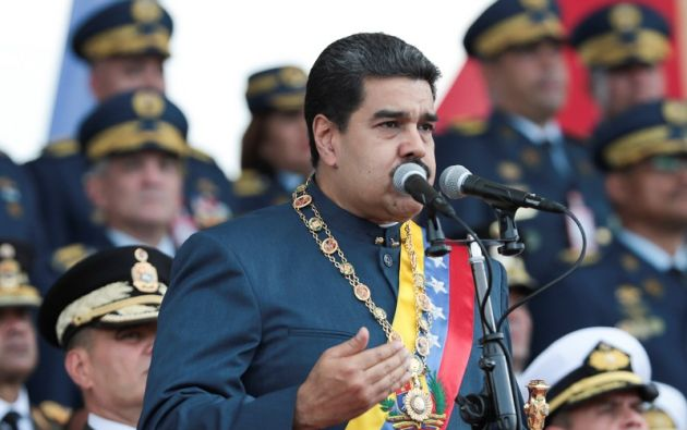 """""""¿Qué pasó con el pernil? Nos sabotearon. Puedo decirlo de un país: Portugal"""", dijo Maduro. Foto: Reuters"""