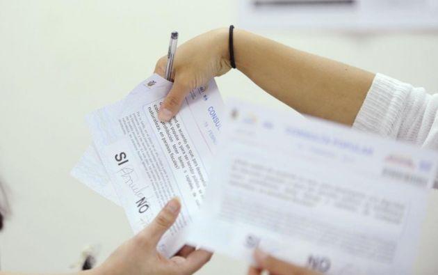 Para el 4 de febrero está previsto el plebiscito planteado por Moreno. Foto: archivo