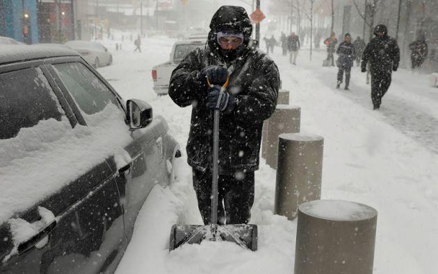 La tormenta amenaza con dejar a millones sin luz y recién amainará el viernes, al avanzar hacia Canadá. Foto: Reuters