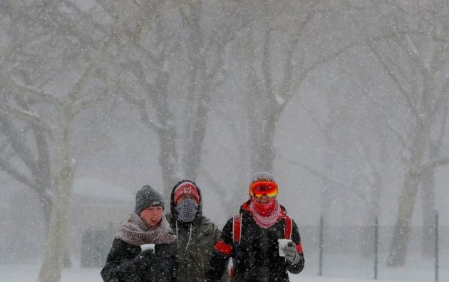 En las partes altas del istmo centroamericano se alcanzaron temperaturas de 2 a 3 grados centígrados. Foto: Reuters