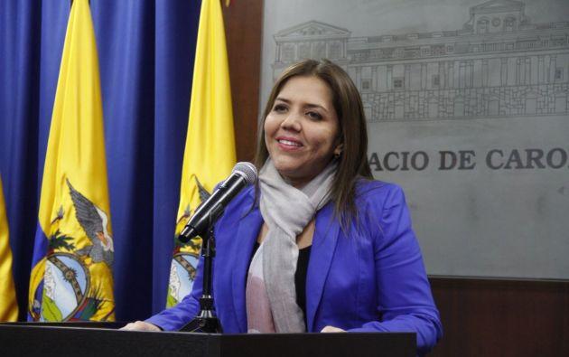Vicuña, hoy mismo será investida como Vicepresidenta titular hasta 2021. Foto: Vicepresidencia
