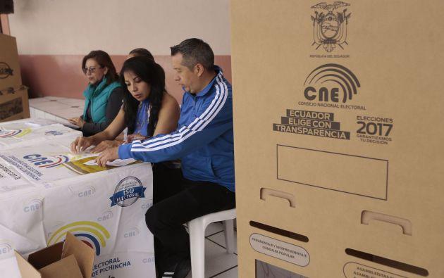 Para realizar la consulta, las personas habilitadas para votar, solo deben digitar los 10 números de su cédula de identidad y/o ciudadanía. Foto: archivo
