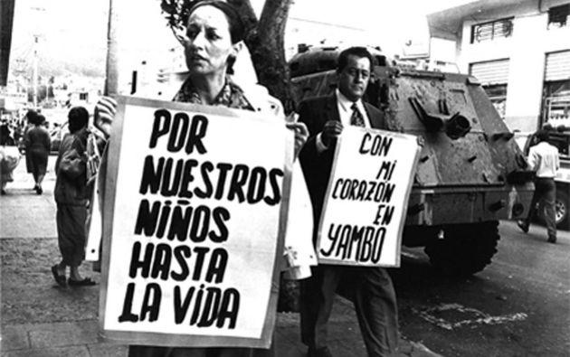 Los jóvenes colombianos Santiago y Andrés desaparecieron el 8 de enero de 1988. Foto: Internet