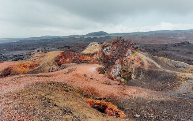 El IG recordó que la última erupción del Sierra Negra ocurrió en el años 2005.| Foto: tomada de Bold Travel
