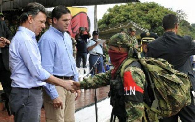 El Gobierno colombiano y el Ejército de Liberación Nacional (ELN) adelantan diálogos de paz en Ecuador desde febrero del año pasado. Foto: Internet