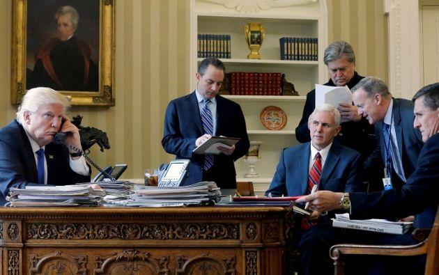 Trump expresó su disposición a sostener conversaciones entre EE.UU. y Corea del Norte. Foto: Reuters