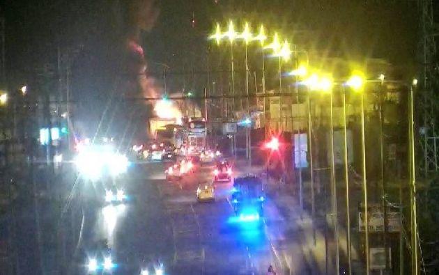 MANTA, Ecuador.- Debido al percance, 5 personas resultaron con afectaciones leves, según ECU 911.