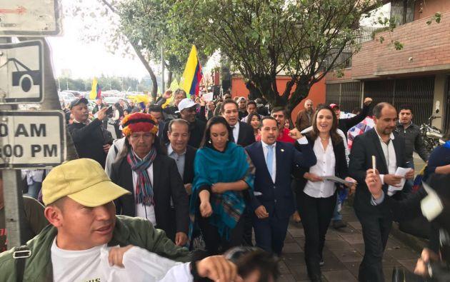La decisión del TCE generó el rechazo de Correa y los suyos que presentaron su desafiliación de AP. Foto: Twitter