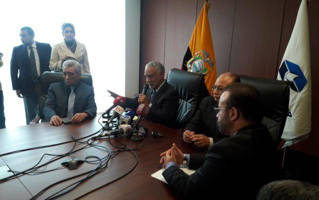 """""""Vamos a realizar ventas Spot conforme sigamos liberando el crudo ecuatoriano"""", dijo Pérez. Foto: @RecNaturalesEc"""