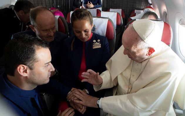Los dos tripulantes del vuelo de la compañía son Carlos Ciuffardi y Paula Podest Ruiz que estaban casados por lo civil. Foto: Reuters