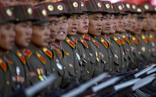 """Más al norte, en Longjing, varios pueblos fronterizos crearon """"unidades de protección"""" contra los norcoreanos. Foto: Reuters"""