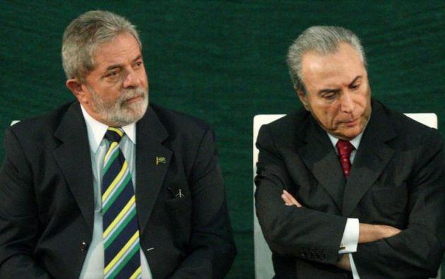 """""""Si Lula fuese derrotado políticamente sería mejor de que fuera derrotado (en la justicia) porque fue victimizado"""", dijo Temer. Foto: HispanTv"""