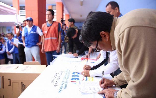 En Guayaquil, el primer simulacro se realizará en el hall de la Universidad Católica Santiago de Guayaquil. Foto: archivo