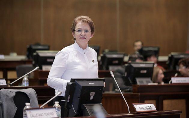 """""""Todos los que estamos en el servicio público somos trabajadores, al igual que los privados"""", dijo la legisladora. Foto: Asamblea"""