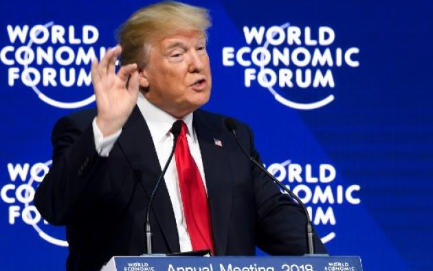 Trump dice que tanto él como congresistas republicanos estarían dispuestos a cambiar sus posiciones en este tema. Foto: AFP