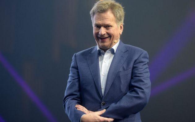 HELSINKI, Finlandia.- Sauli Niinistö se volvió popular por su capacidad de lidiar con Rusia. Foto: AFP.