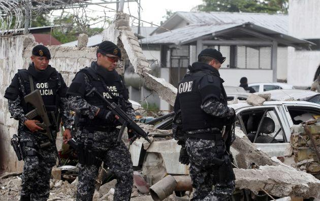 """""""Estamos trabajando para que el grupo que se encuentra en este sector sea detenido"""", agregó Zambrano. Foto: Reuters"""