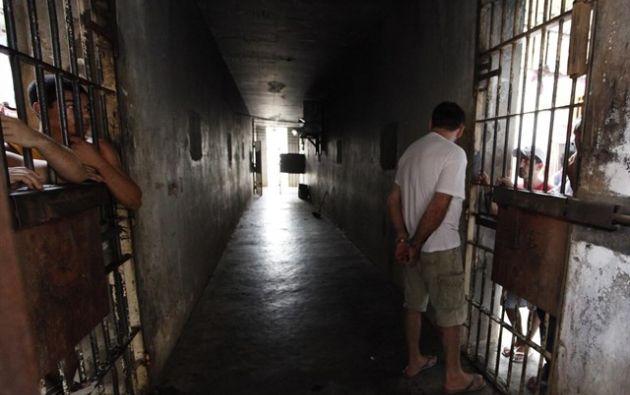 Brasil suma la tercera mayor población carcelaria del mundo con 726.712 presos. Foto:Reuters