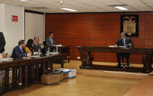 También se ordenó la incautación de bienes muebles e inmuebles y la inmovilización de las cuentas bancarias de todos los procesados. Foto: Fiscalía