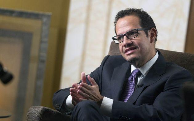 Lenín Moreno aceptó la renuncia del titular de Minería. Foto: Latinomineria