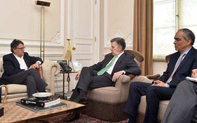 Santos anunció este lunes la suspensión del diálogo de paz con el ELN a raíz de los atentados cometidos por ese grupo el fin de semana. Foto: Reuters