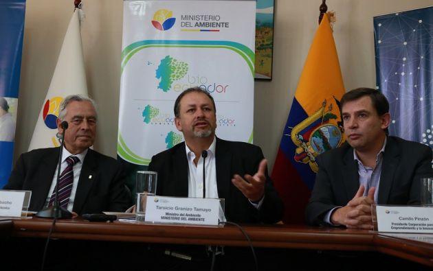 """""""El apoyo de la empresa privada es fundamental para el desarrollo de los bioemprendimientos"""", recalcó el Ministro. Foto: MAE"""