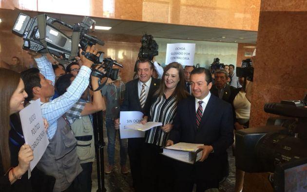 """Según Lourdes Cuesta, """"comienza el camino a la libertad de expresión"""". Foto: Radio Pública"""