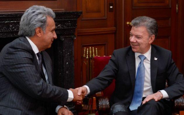 Presidentes de Ecuador y Colombia se reunirán el 15 de febrero en Pereira. Foto: Archivo - @vamosLenin