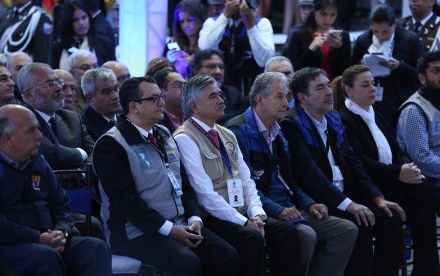 La Unasur es una de las cuatro organizaciones internacionales que han enviado delegaciones a la consulta. Foto: CNE